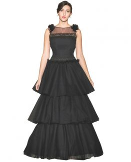 vestidos-de-clavariesa-azua-tul-negro-capas