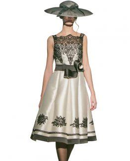 vestidos-de-madrina-bianca-encaje-mangas-blanco-negro