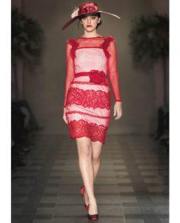 vestidos-de-madrina-ilya-plumeti-encaje-corto