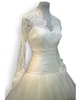 vestidos-de-novia-olga-tul-encaje-blanca