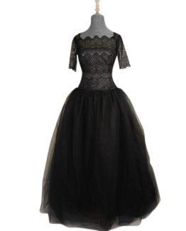 vestidos-de-clavariesa-festera-a medida-tul-encaje-negro-capas